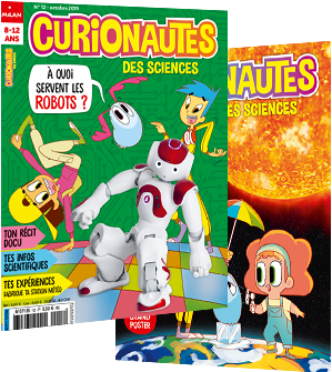 Curionautes des sciences : couverture du magazine