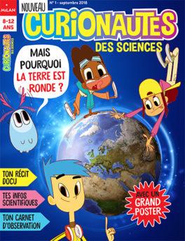 curionautes des csiences - le magazine qui intéresse tous les enfants à la science