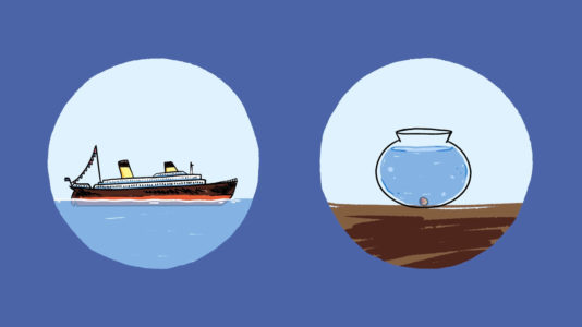 comment les bateaux flottent