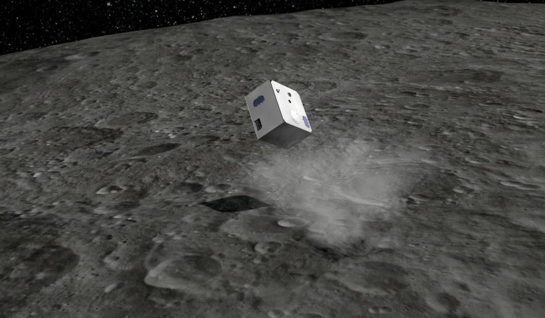 Atterrissage de Mascot sur l'asteroïde Ryugu