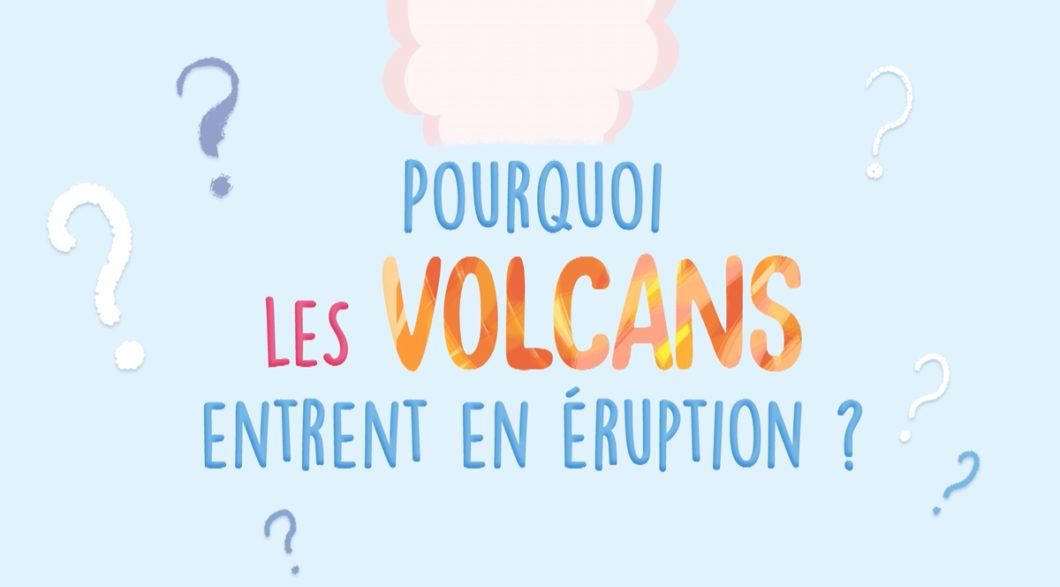 Noura et Curio se demandent pourquoi les volcans entrent en éruption