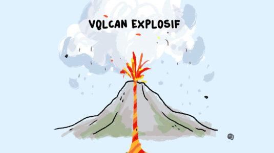 volcan explosif explication