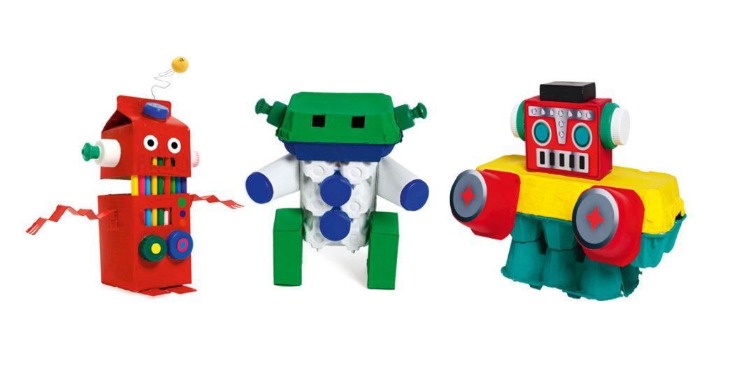 Robots recyclés