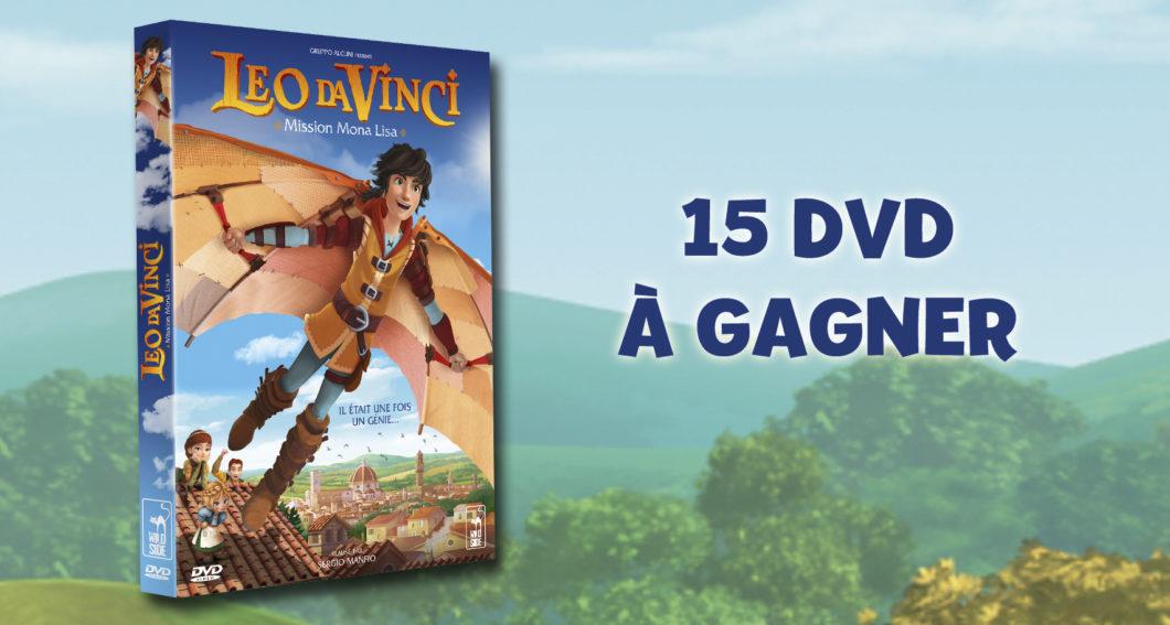 Gagnez des DVD Leo da Vinci : mission Mona Lisa