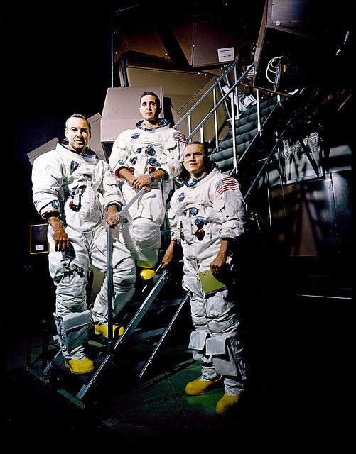 L'équipage d'Apollo 8