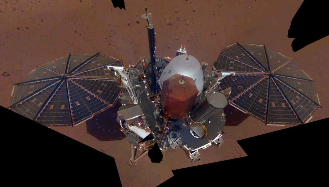 Insight, son premier Selfie