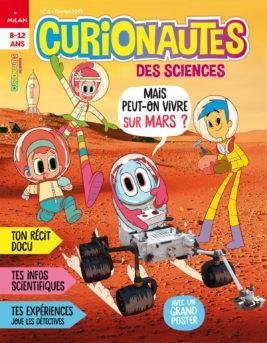 Couverture Janvier 2019 n°6 : Mais peut-on vivre sur Mars ?
