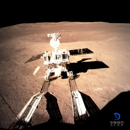Premières images de Chang'E 4 (Chinese Lunar Exploration Program) - CNSA