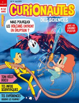 Couverture, mai 2019 : mais comment les volcans entrent en éruption ?