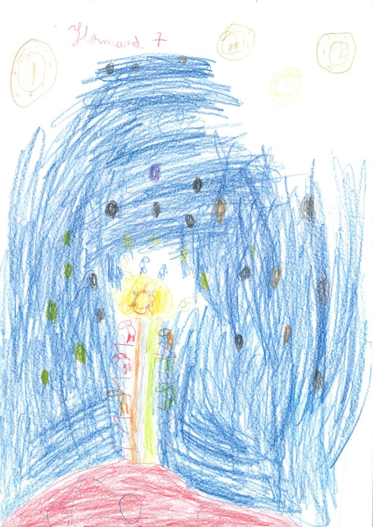 Hermand, 7 ans