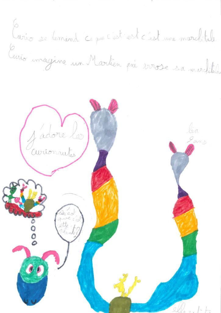 Léa, 9 ans