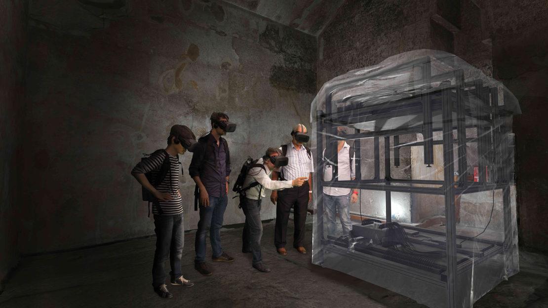 Visite du plateau de Gizeh en réalité virtuelle/ScanPyramids