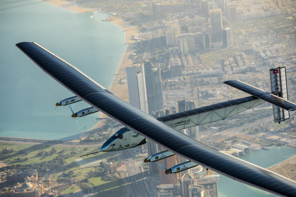 Solar Impulse 2, Abu Dhabi