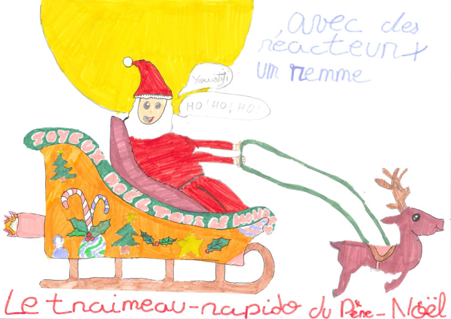 Aines, 9 ans