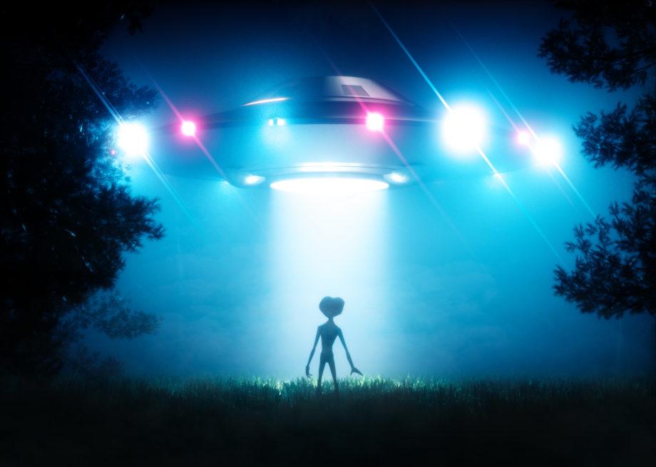 Vue d'artiste d'un extraterrestre