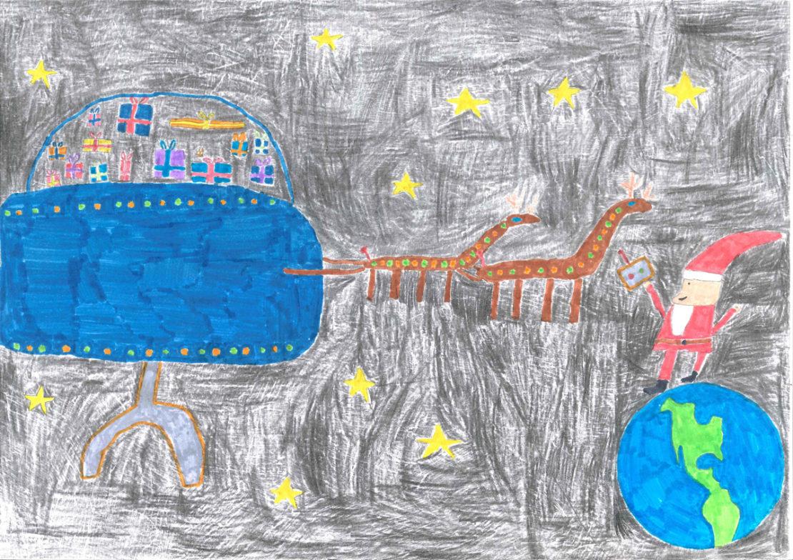 Mathéo, 9 ans