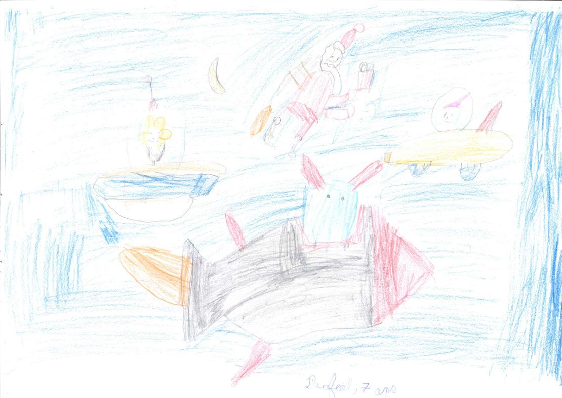 Rafaël, 7 ans
