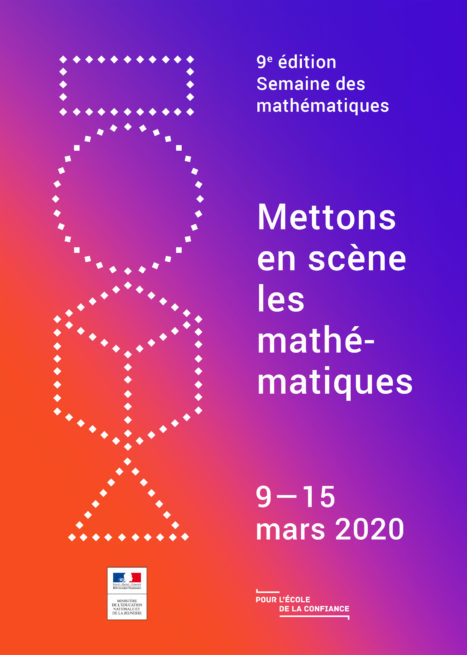 Affiche semaine des mathématiques