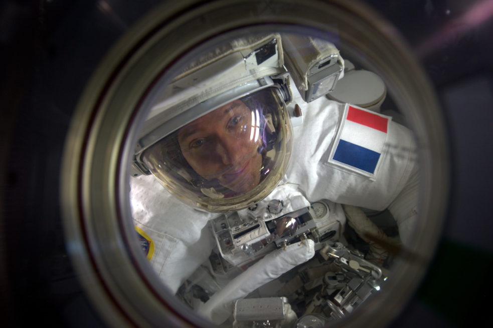 Thomas Pesquet lors de la mission Proxima (2016/2017)