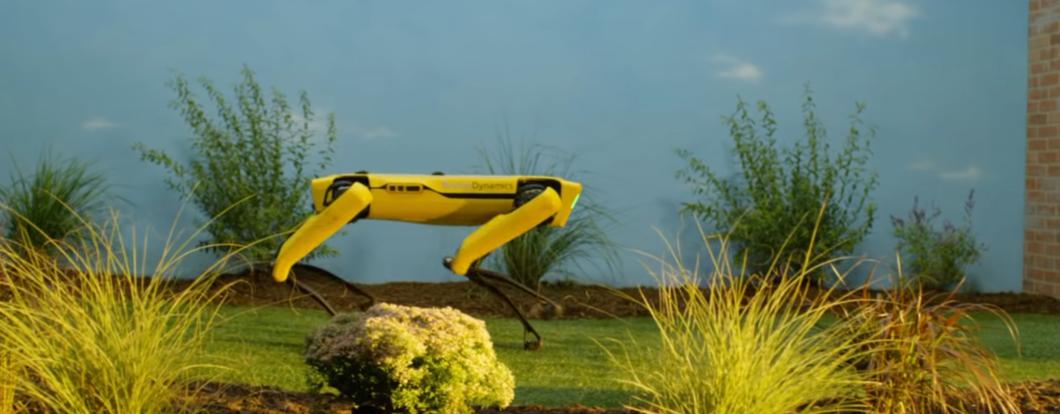 Robot Spot, capture d'écran vidéo Boston Dynamics