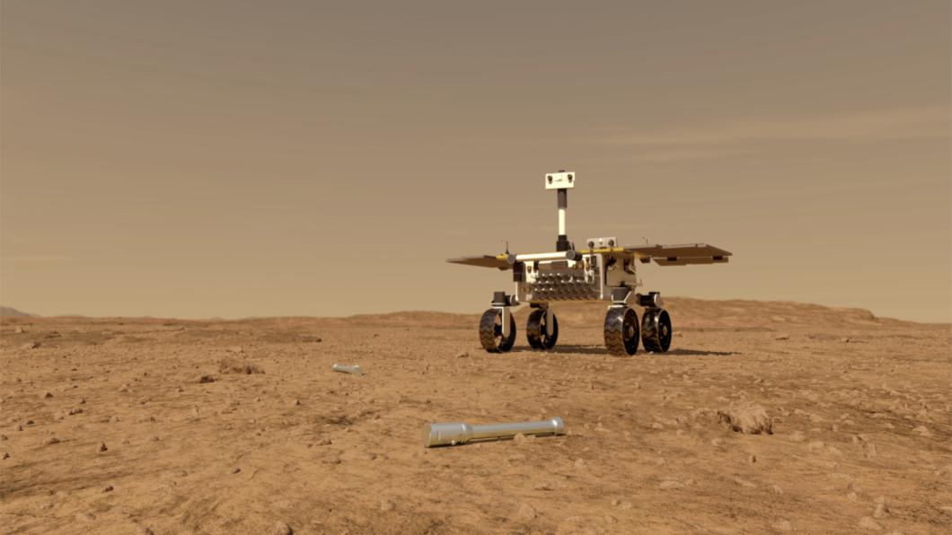 Vue d'artiste du rover Perseverance © NASA/JPL-Caltech