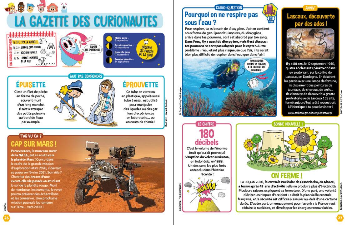 Gazette des Curionautes