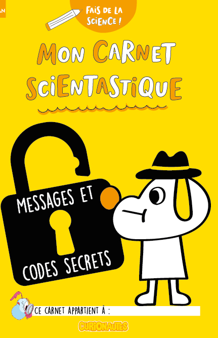 Carnet messages et codes secrets