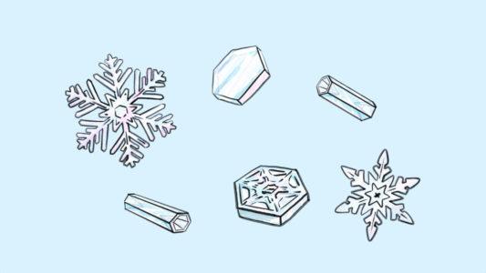 Comment se forment les flocons de neige ?