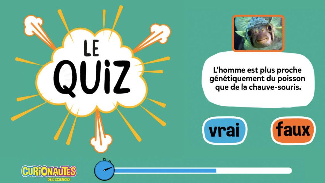 Quiz Curio : Teste tes connaissances sur l'évolution
