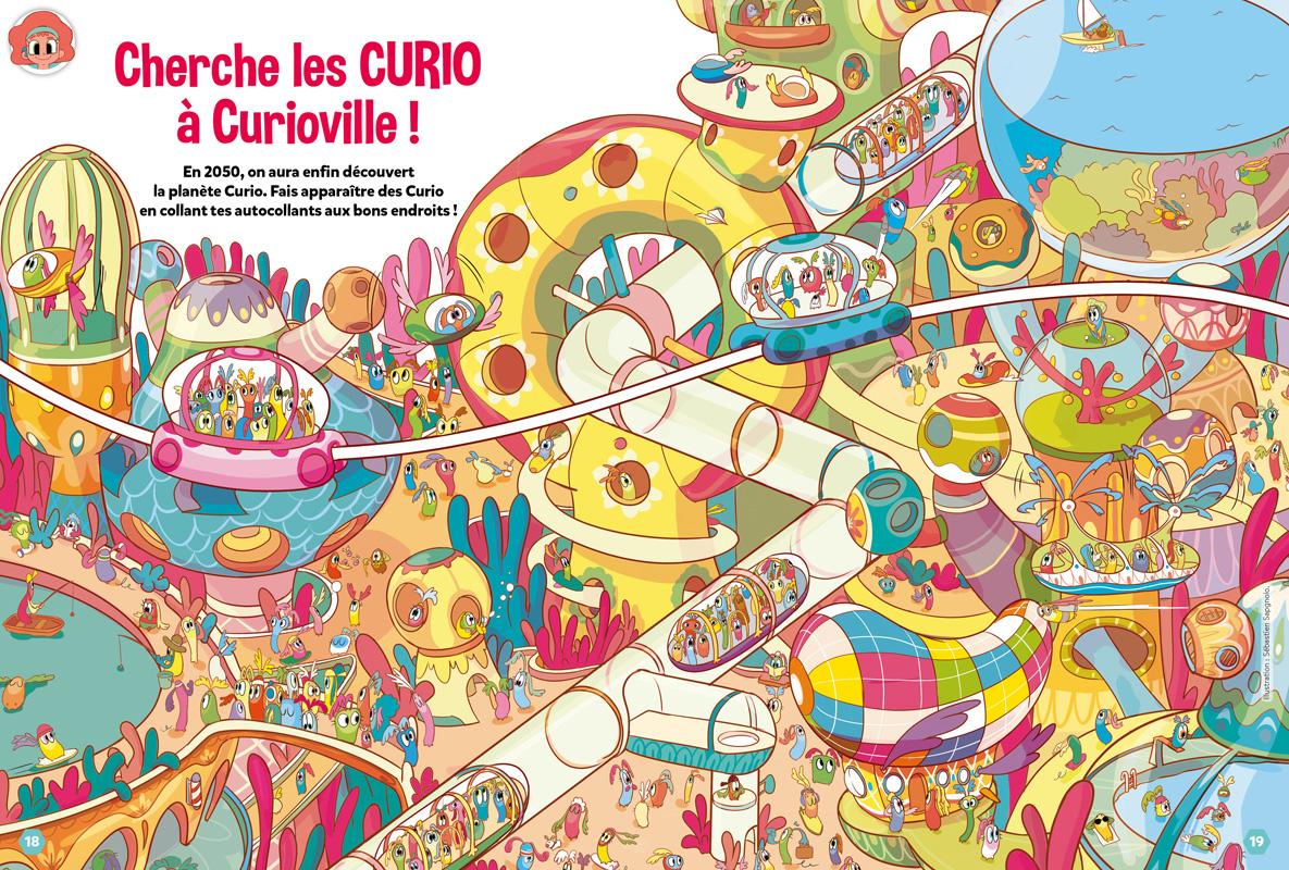 Jeux Curio-ville
