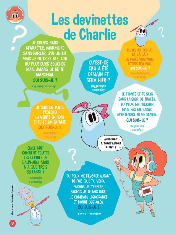 Devinettes de Charlie