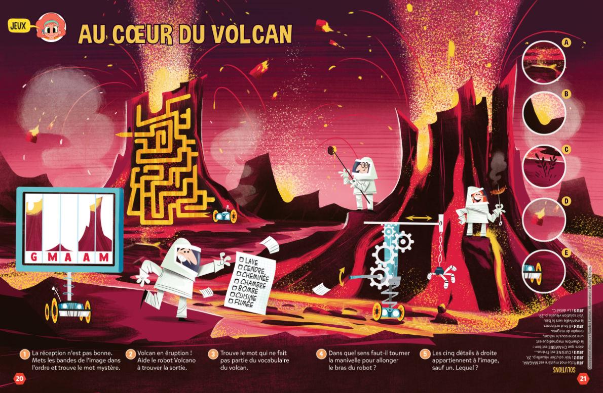 Jeux volcan