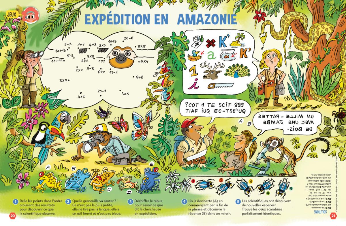 Jeux Amazonie