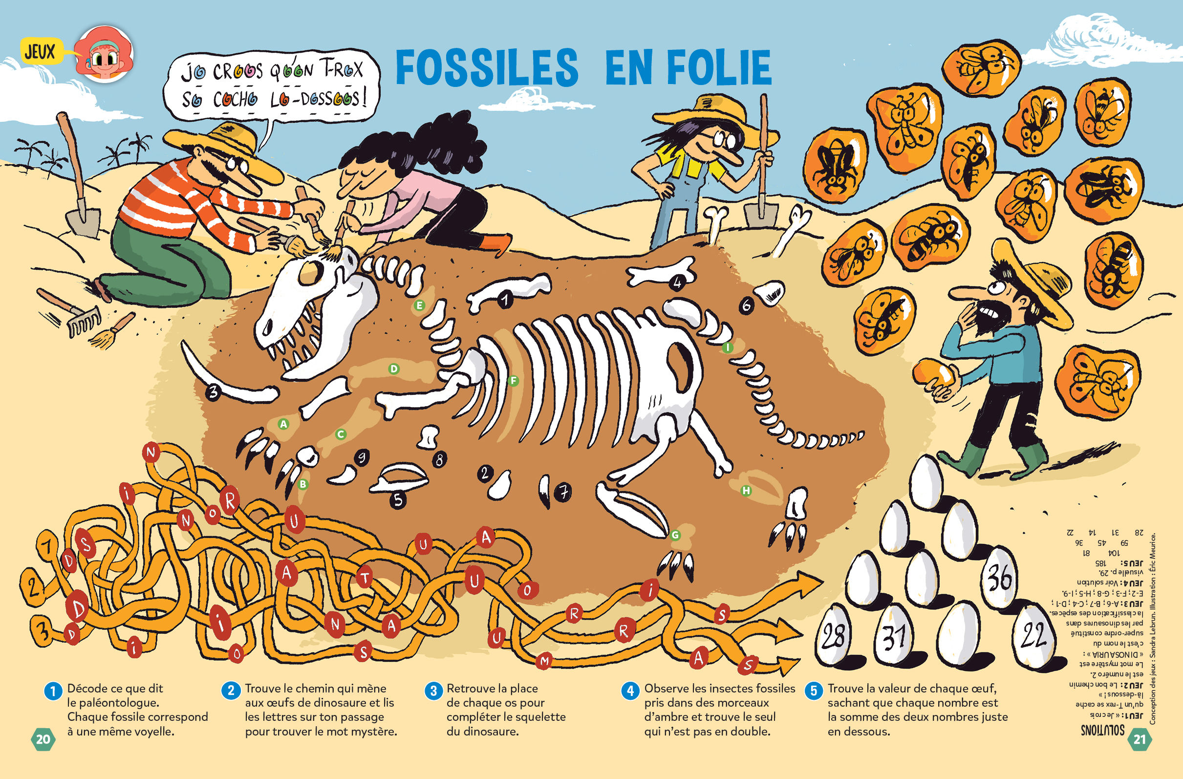 Jeux fossiles